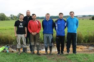Pohlheimer Bach Renaturierung - Team